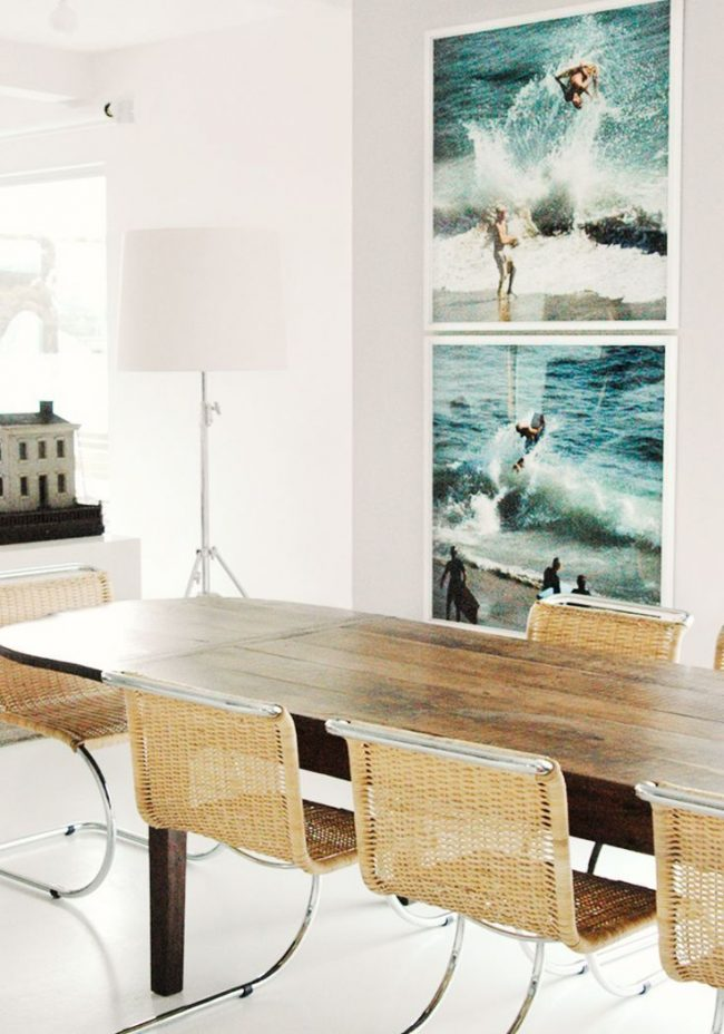 40 Rustic Living Room Ideas To Fashion Your Revamp Around: 54 Gorgeous Oval Dining Tables For Your Modern Kitchen