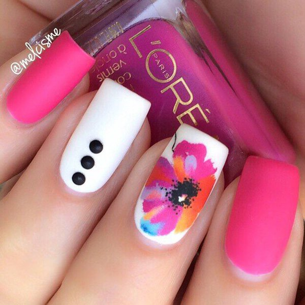 60 Beautiful Pink Nail Art Designs Ideas » EcstasyCoffee