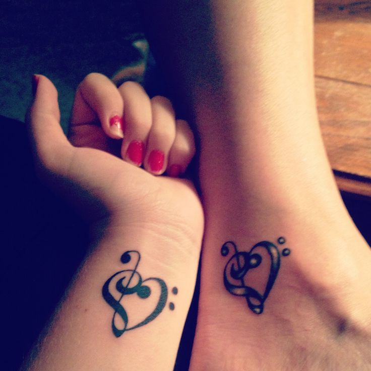 Small Tattoo Ideas For Mother And Daughter: 55 Awesome Mother Daughter Tattoo Design Ideas » EcstasyCoffee