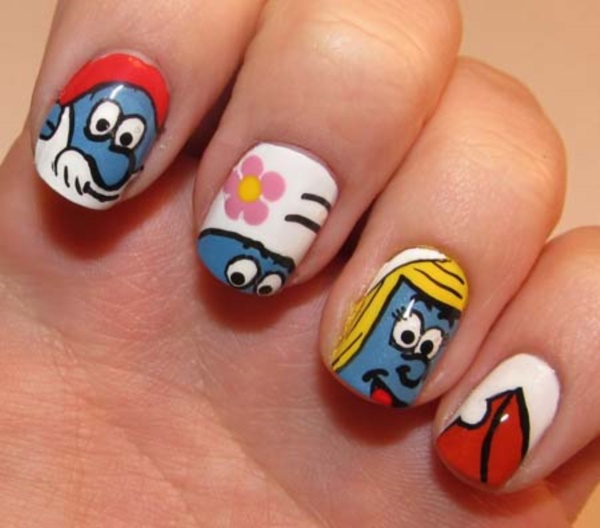 Oval Nails Design Tumblr 60 Creative Cartoon In...