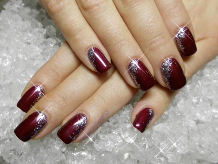 45 gorgeous nail art design for new years eve ecstasycoffee sparkling new year nail art prinsesfo Images