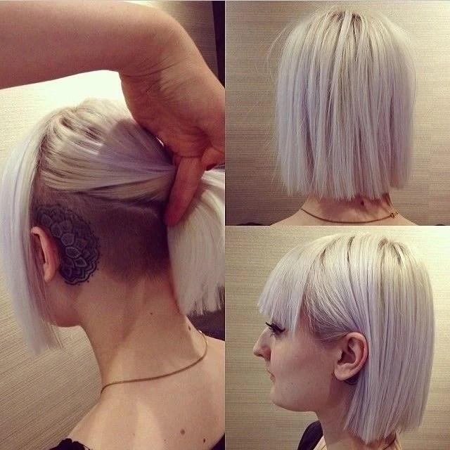 stylish-ash-purple-haircut-with-blunt-bangs