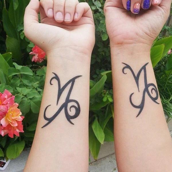 Mama Und Tochter Tattoo