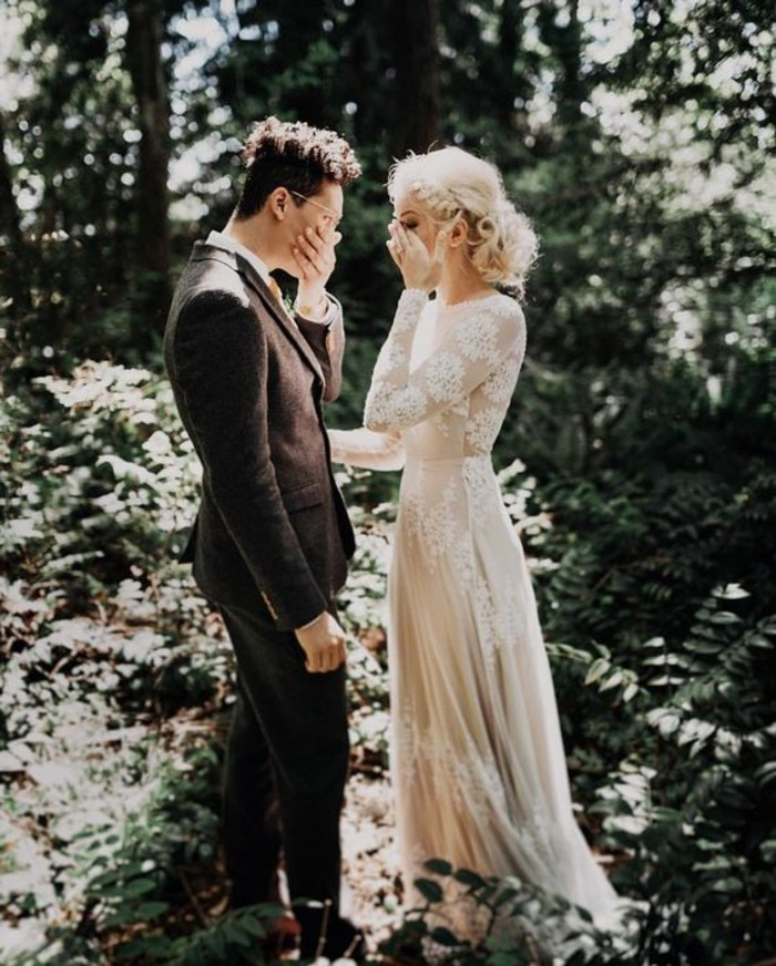 Simple Wedding Dresses Eloping: 50 Chic Boho-Chic Wedding Dresses Ideas » EcstasyCoffee