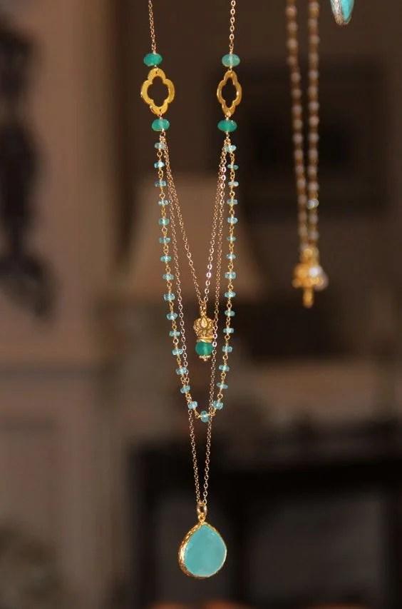 36 Unique Long Necklaces Idea Every Woman Should Have