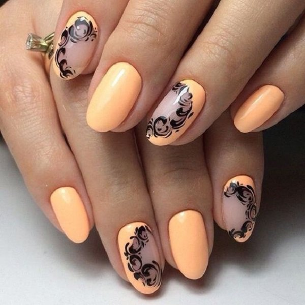 37 Beautiful Oval Nail Art Ideas Ecstasycoffee