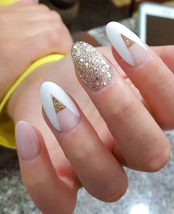 ... oval-nails-designs-ideas47 - 37 Beautiful Oval Nail Art Ideas » Page 4 Of 4 » EcstasyCoffee