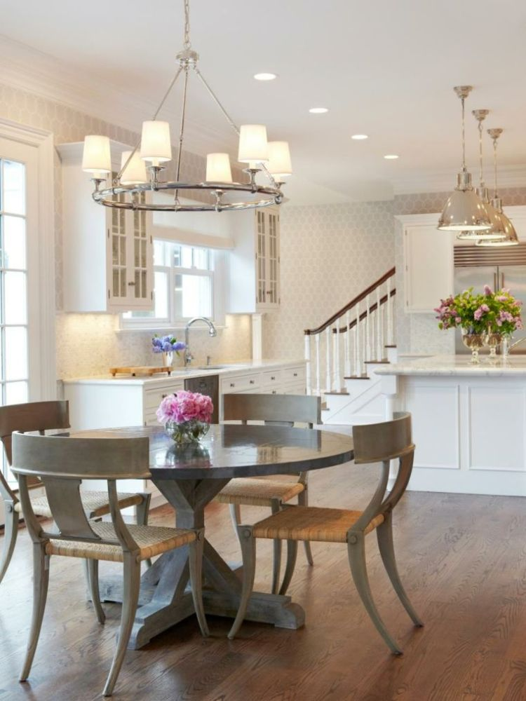 54 Gorgeous Oval Dining Tables For Your Modern Kitchen ...