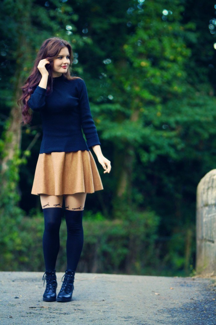e35f76d993f994 45 Cute Skater Skirt Outfit Ideas To Try This Season » EcstasyCoffee