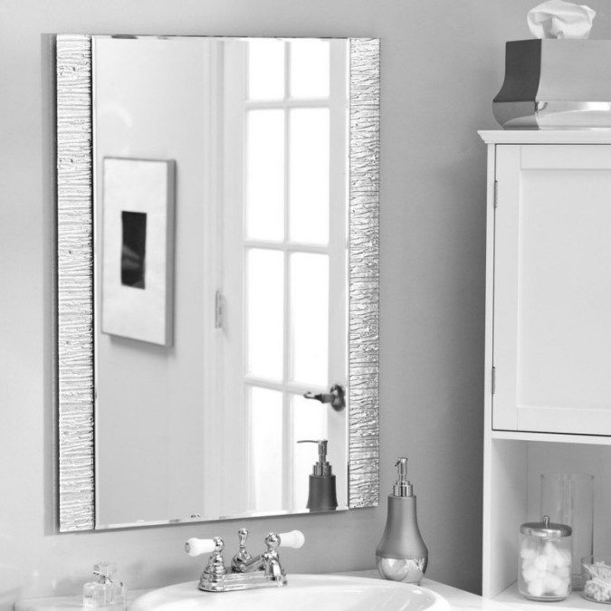 50 Fabulous Bathroom Mirror Design Ideas And Decor - EcstasyCoffee