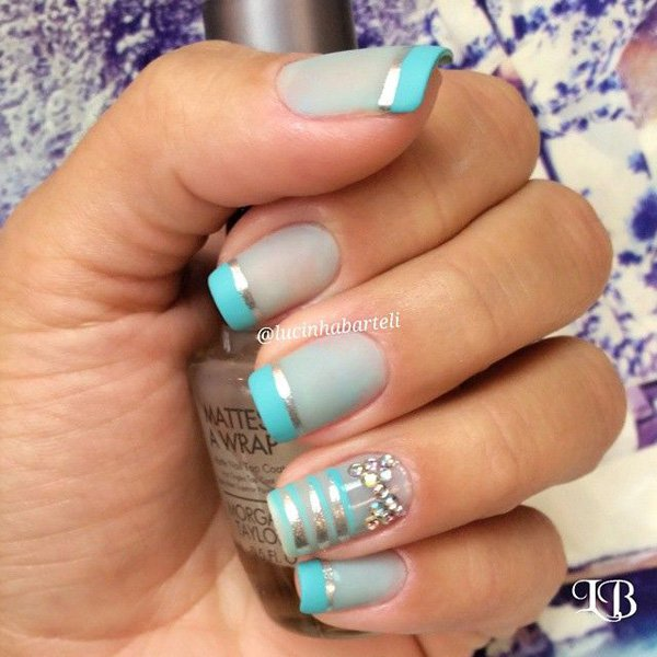 60 Unique And Awesome Metallic Nail Designs That Are