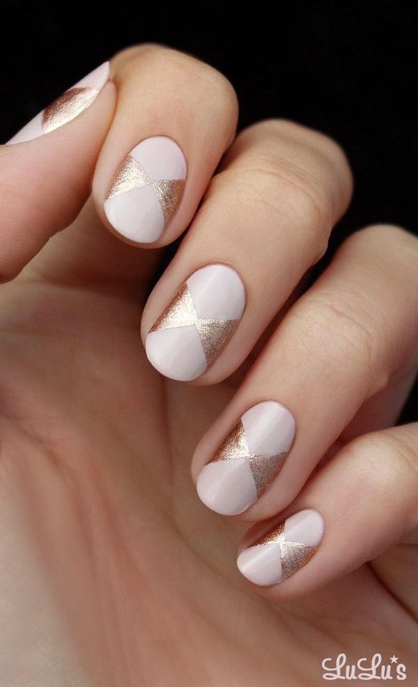 37 Cute Valentine Day Pink Nail Art Design Ideas 187 Ecstasycoffee