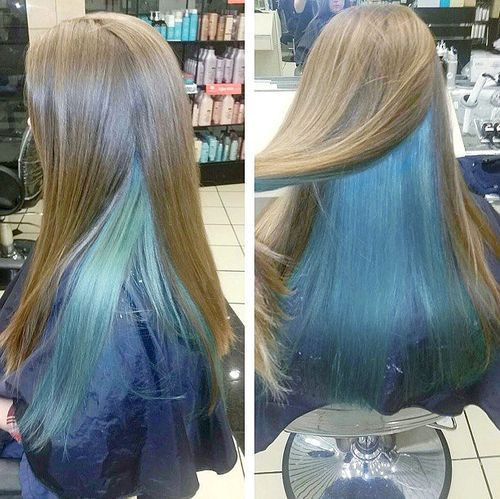 50+ Awesome Blue Ombre Hair Color Ideas You'll Love To Try