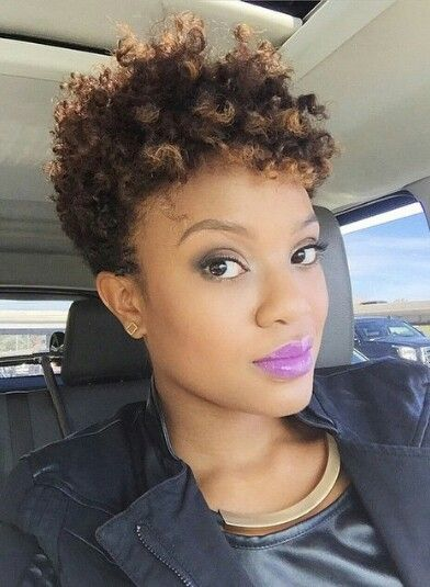 45 Fabulous Natural Short Hairstyles For Black Women ...