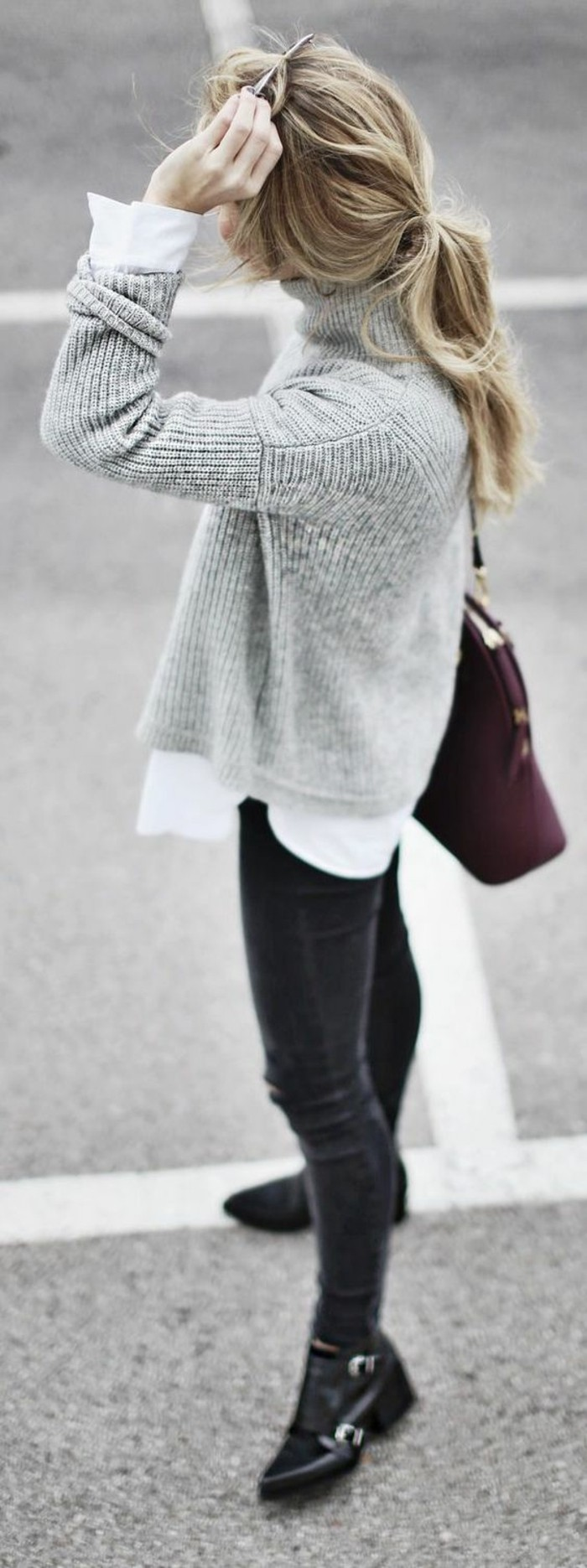 50 Pullover Sweaters Outfit Ideas For Women » EcstasyCoffee