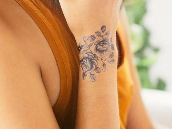 Rose Tattoo Around Wrist: 70 Remarkable Wrist Tattoo Designs Ideas That Will Blow