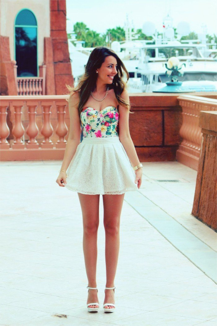 fine cute dressy outfits with skirts 17