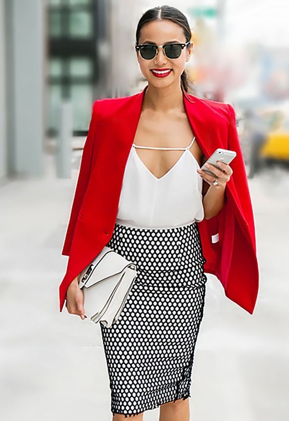 fine red and white dress outfit wedding