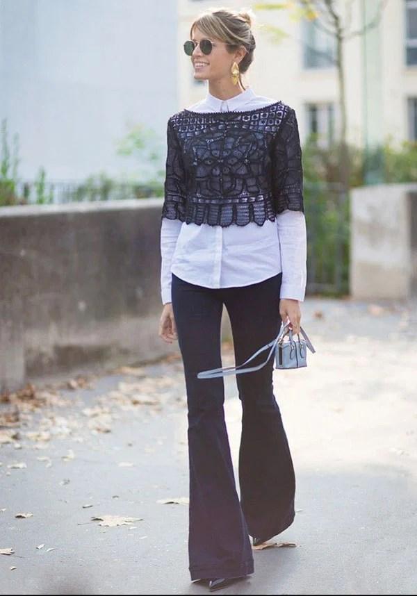 d8922ff7f67 40 Stylish Ways To Wear Sheer Shirts » EcstasyCoffee