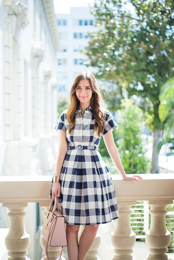30 Perfect Gingham Outfit Ideas For Summer Ecstasycoffee