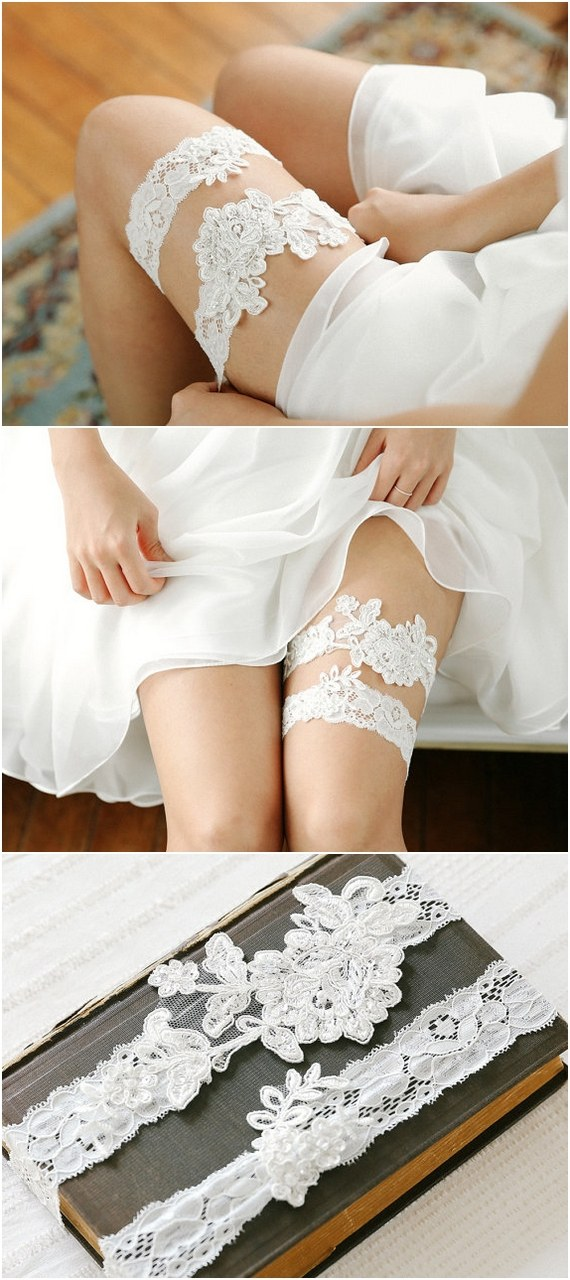 white-lace-wedding-garters