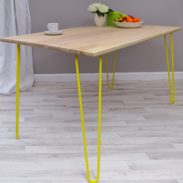 diy living room table decor log cabin style furniture 35 awesome hairpin legs ideas » ecstasycoffee