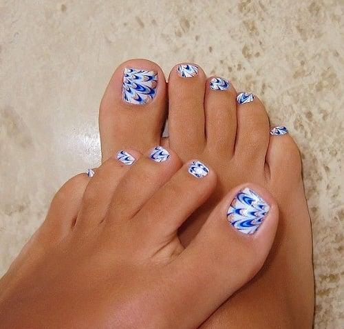 summer toe nail design ideas