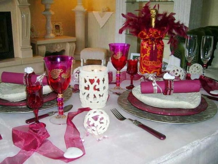 30 cool and beautiful valentine u0026 39 s day table decorations