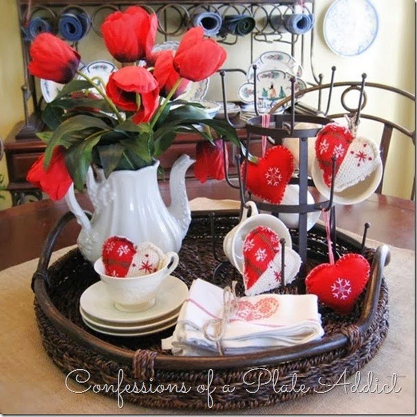 Valentineu0027s Day Table Decoration Photos Collected Via Pinterest.com