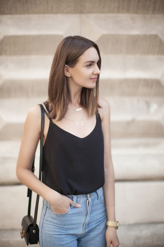 16 Style Tips On How To Wear Cami Top Outfit Ideas