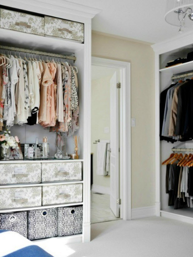 fabulous home decorating ideas bedrooms | 40 Fabulous Closet Designs And Dressing Room Ideas ...