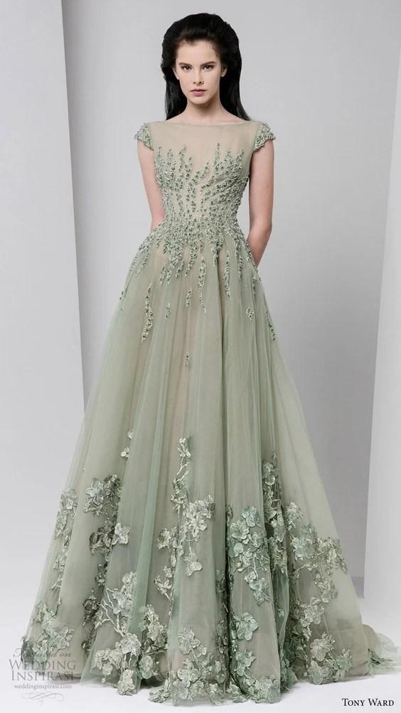 38 Gorgeous Non-White Wedding Dresses Ideas For Unique