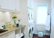 A dreamy laundry room