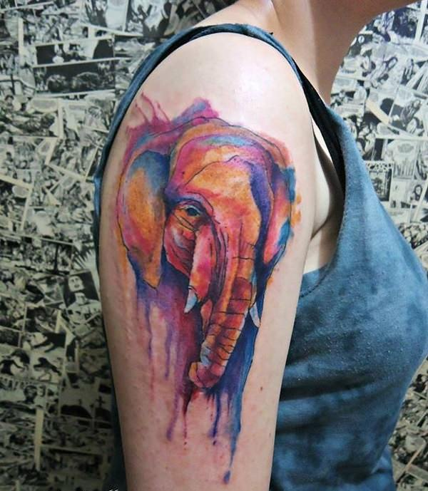 55 Eye Catching Elephant Tattoo Design Ideas With Meaning