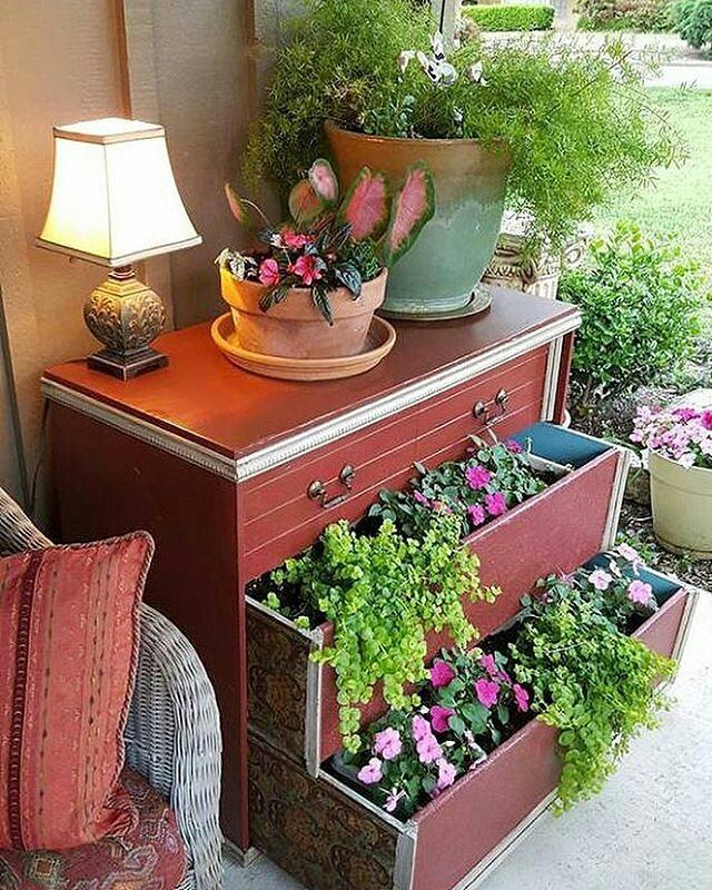 ... #planter #dresser #repurpose #upcycle #planterideas #gardening #planters  ...