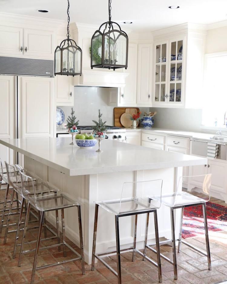 27 Cheerful Orange Kitchen Decor Ideas: Christmas Kitchen : 60 Modern Christmas Kitchen Decorating