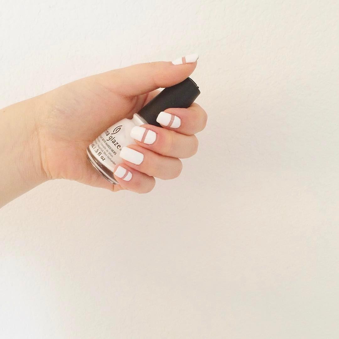 53 Adorable White Nail Art Ideas To Try
