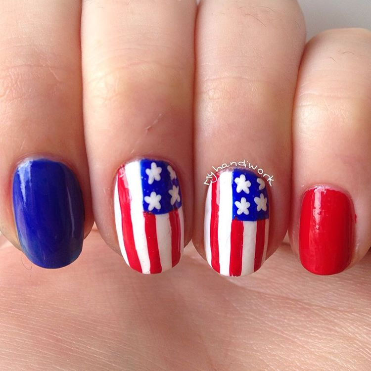 55 amazingly patriotic 4th july nail art ideas 4thjuly america americannails flag americanflag redwhiteandblue 4thjulynails nailpolishernoticeme prinsesfo Gallery