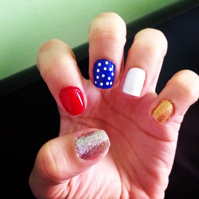 May The 4th Be With You And Also With You: 55 Amazingly Patriotic 4th July Nail Art Ideas