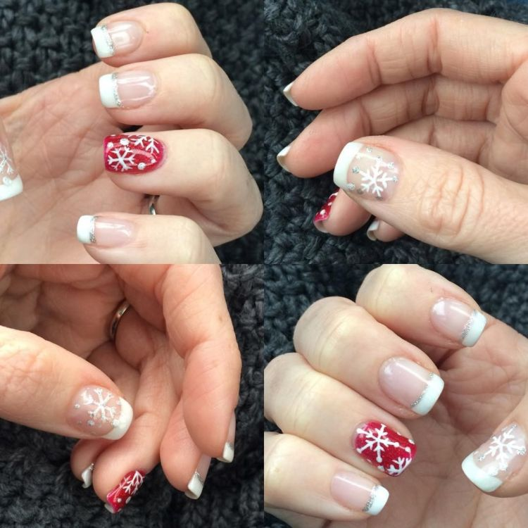 christmasnails 2017 nails nailart art naildesigns prettynails cutenails