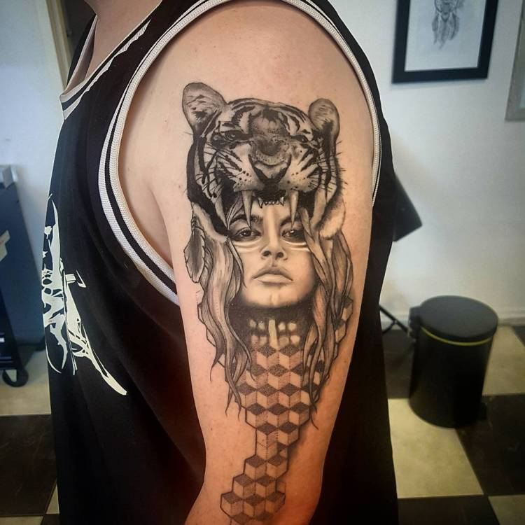 Best 25 Knee Tattoo Ideas Only On Pinterest: 50 Great Tiger Tattoo Ideas For The Ferocious People