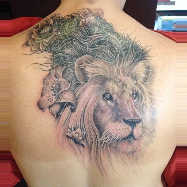 Coverup #coveruptattoos #lion #liontattoos