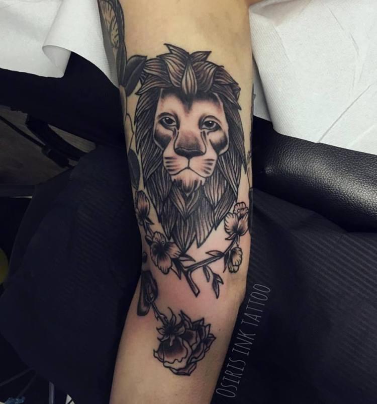 #lion #liontattoo #osirisinktattoo #tattooarm