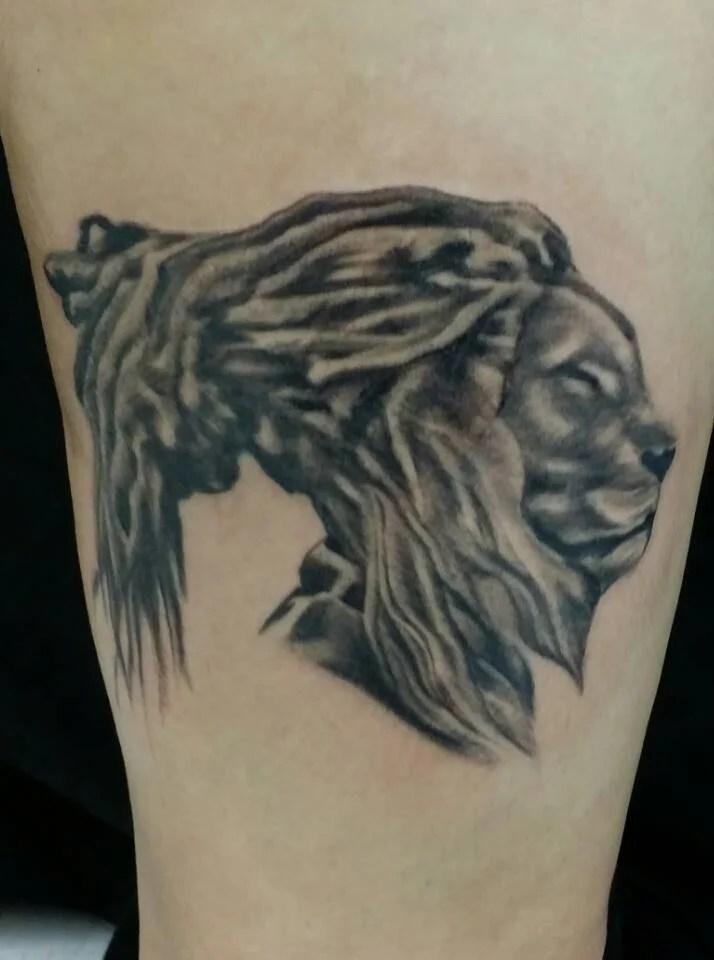 #liontattoos