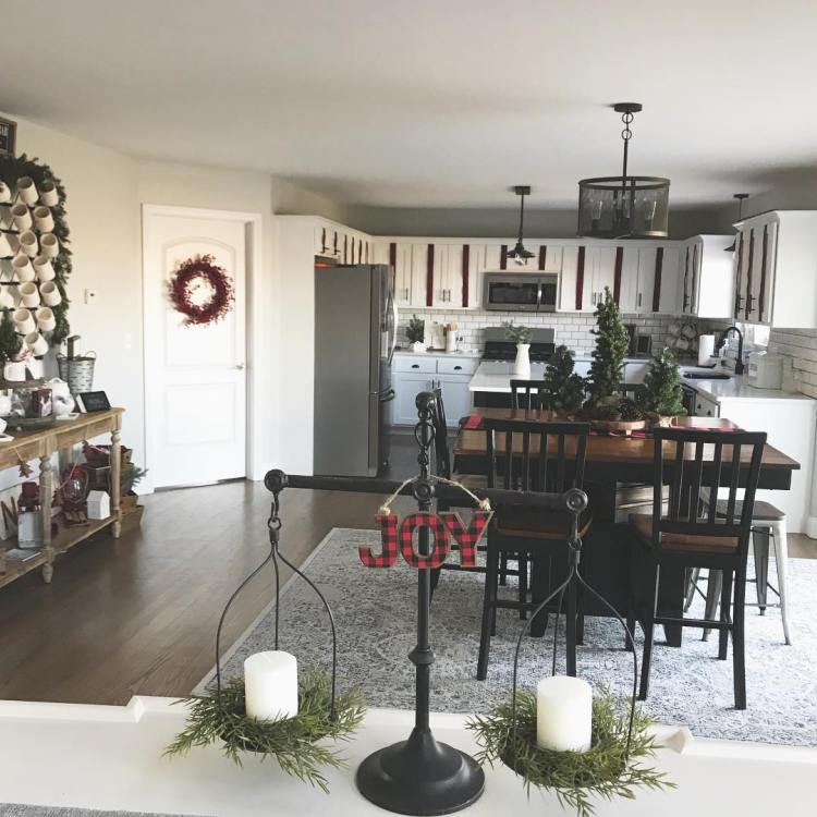Creative Kitchen Makeover Ideas: Christmas Kitchen : 75+ Creative Kitchen Decorating Ideas