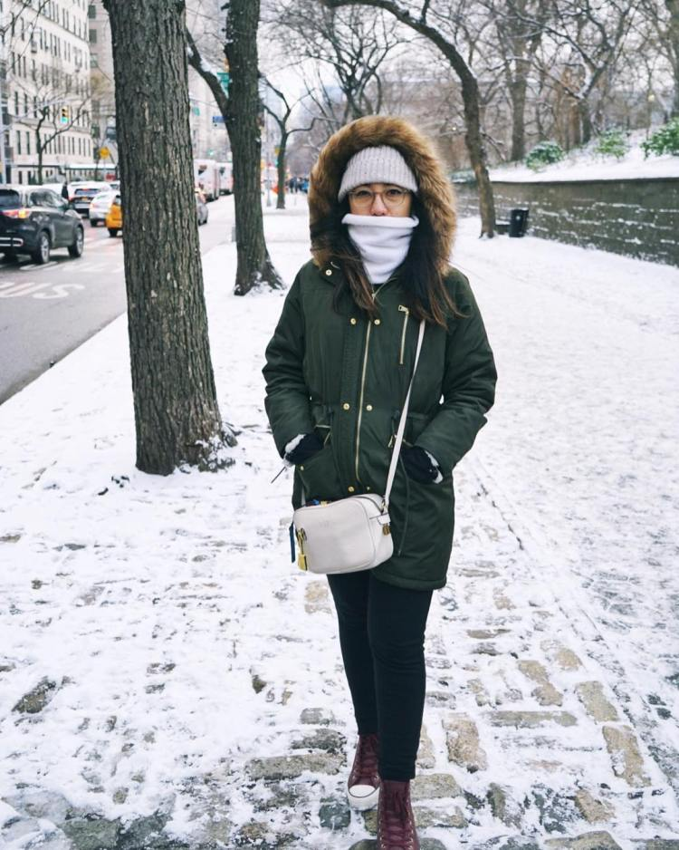 Freezing Try this look