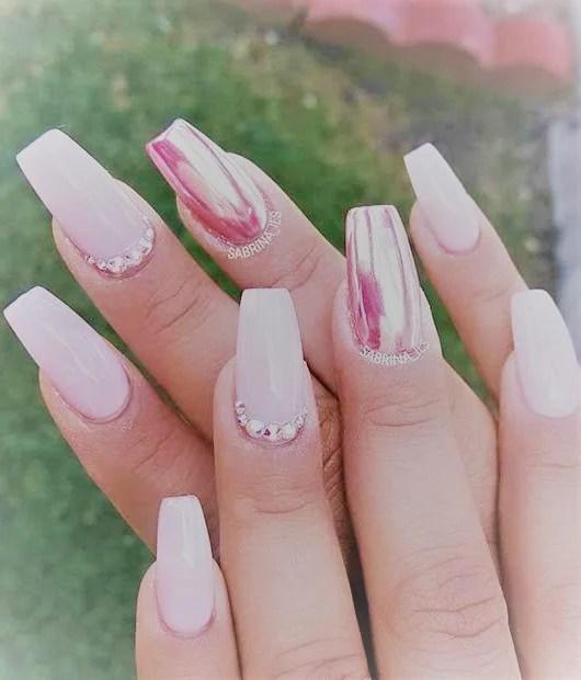50 gorgeous metallic nail art designs to try now