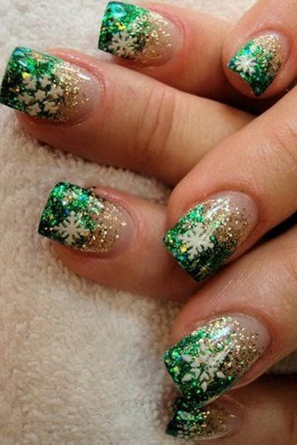 70 Best Christmas Nail Art Designs For 2019 Ecstasycoffee