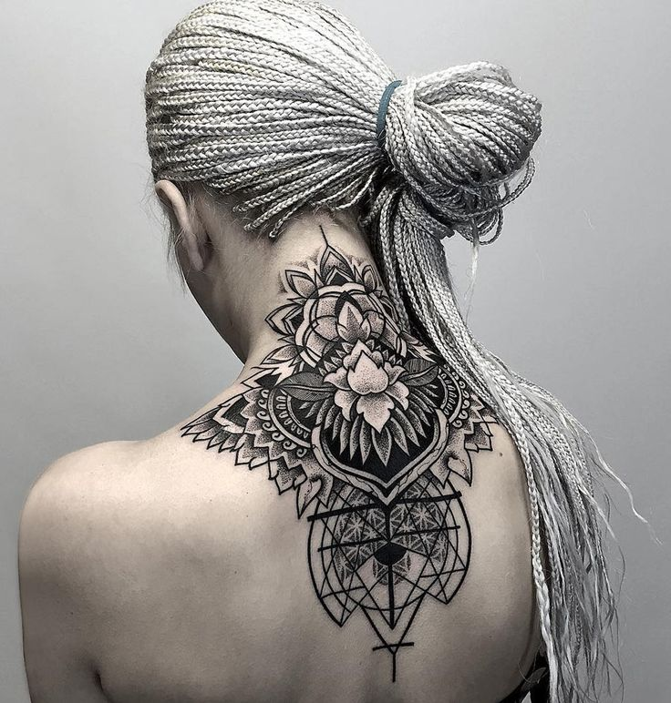 13 Beach Wedding Hair Ideas You Need To See Right Now: 50 Excellent Neck Tattoo Designs » EcstasyCoffee