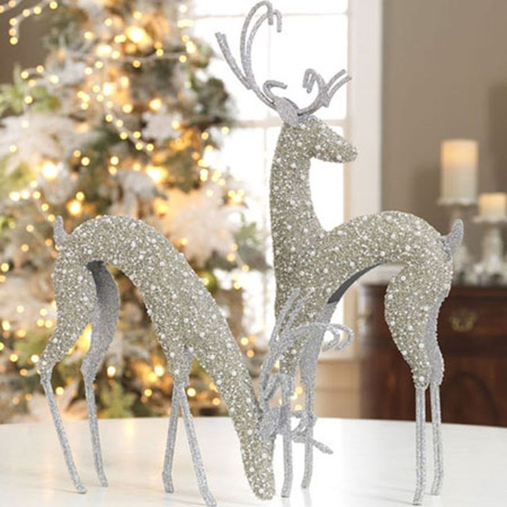50 glistening vintage white christmas decoration ideas ecstasycoffee